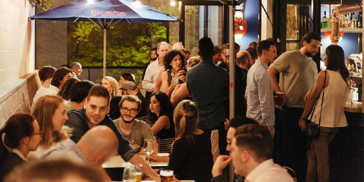 Prince Alfred's offers a stunning rooftop terrace for office parties!
