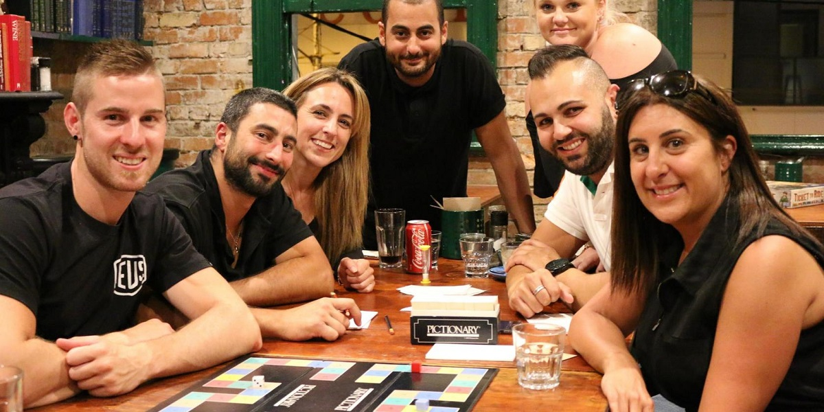 Queen Of Spades is the ideal Melbourne venue for a board game night with your team mates!