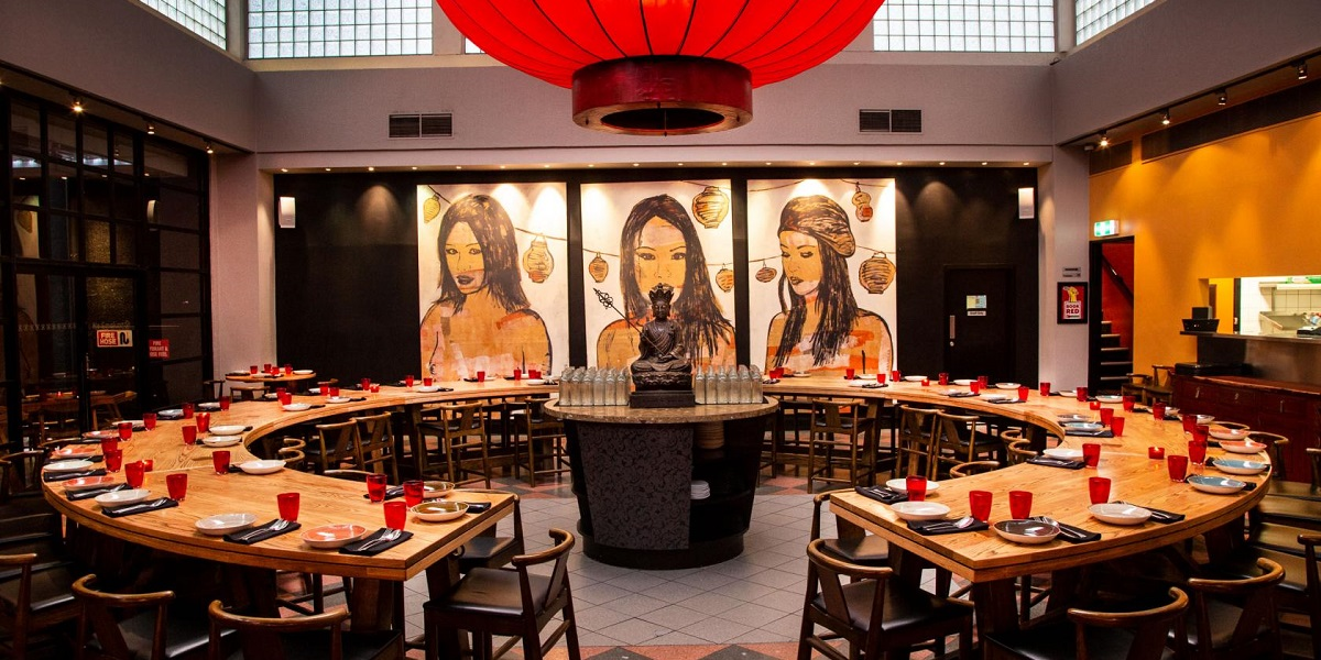 Red Spice Road is a beautiful Asian restaurant in the heart of Melbourne, just off the Little Collins Street.
