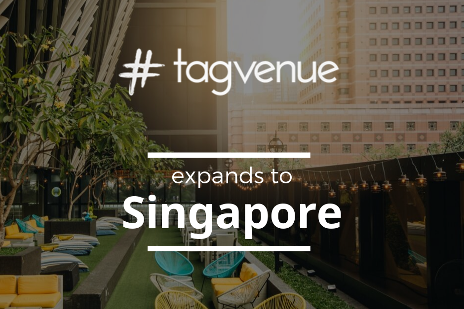 Tagvenue Expands To Singapore