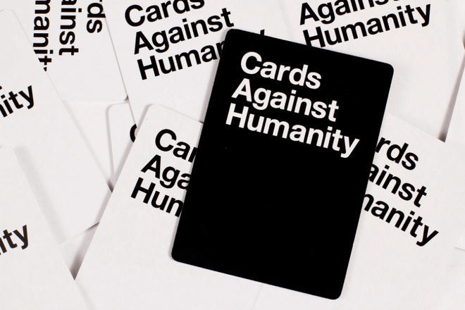 cards from cards against humanity