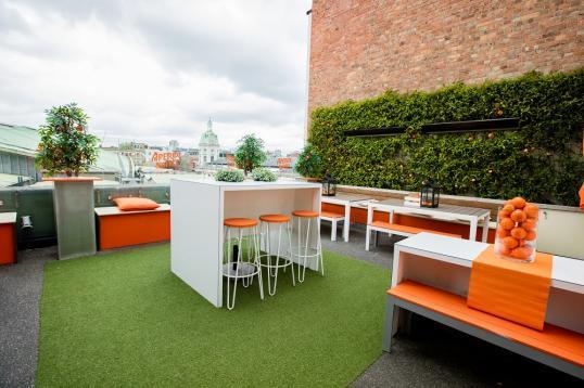 Roof terrace at bird of smithfield private hire for 5 smithfield terrace nashua nh
