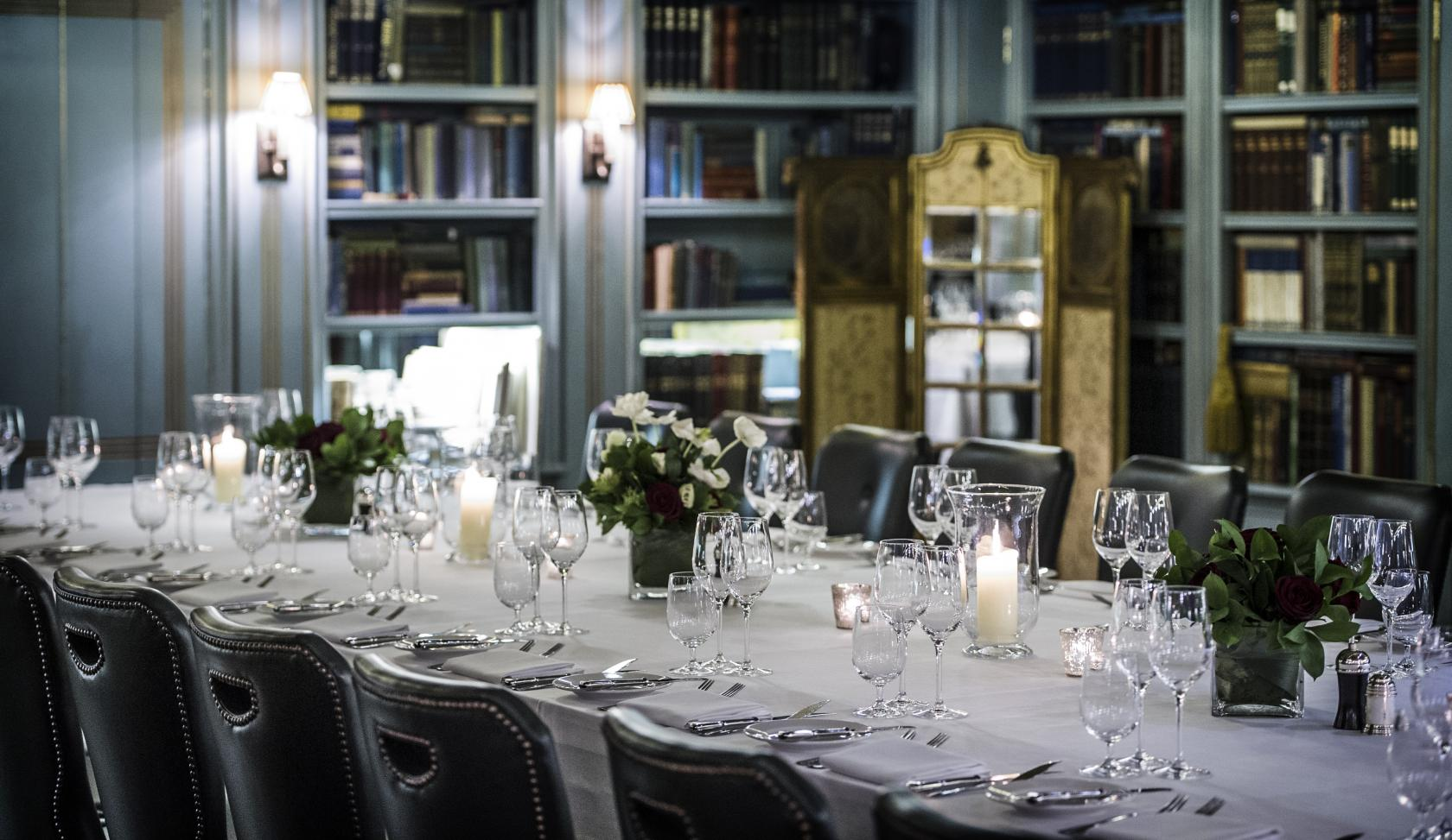 Swallow street rooms at bentley 39 s oyster bar grill for Best private dining rooms west end london