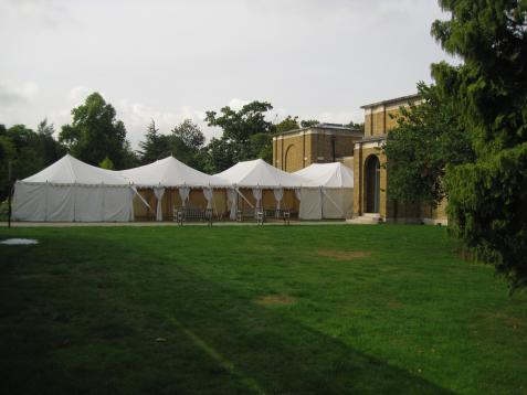 Outdoor party venues in london for hire for Garden pool hire london