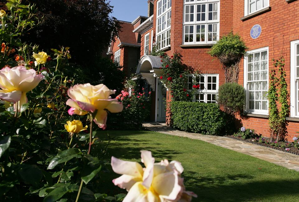 Garden at freud museum london private hire for London garden rooms